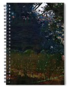 Blue Night In The Field Spiral Notebook