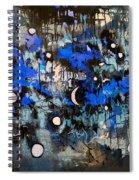 Blue Night Spiral Notebook