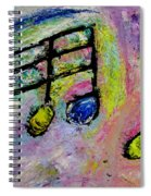 Blue Note Spiral Notebook