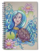 Blue Nova Spiral Notebook