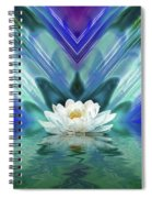 Blue Oasis Spiral Notebook