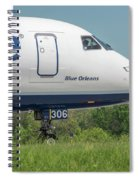 Blue Orleans Spiral Notebook