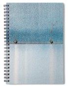 Blue Over Blue 03 Spiral Notebook