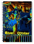 Blue Oyster Cult Jamming In Oakland 1976 Spiral Notebook