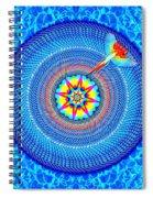Blue Parrot Mandala Spiral Notebook