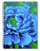 Blue Peony Jenny Lee Discount Spiral Notebook
