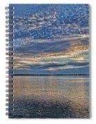Blue Persuasion Spiral Notebook