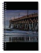 Blue Pier Spiral Notebook