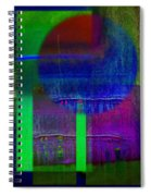 Blue Planet Spiral Notebook