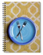 Blue Plate Special Spiral Notebook