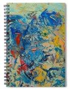 Blue Play 5 Spiral Notebook