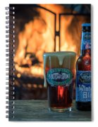 Blue Point Winter Ale By The Fire Spiral Notebook