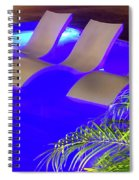 Blue Pool Spiral Notebook