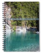Blue Pools New Zealand Spiral Notebook