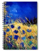 Blue Poppies 459070 Spiral Notebook