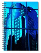 Blue Reflections ... Spiral Notebook