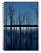 Blue Reservoir - Manasquan Reservoir Spiral Notebook