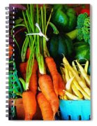 Blue Ribbon Harvest Spiral Notebook