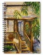 Blue Ridge Cabins Blue Ridge Mountains Spiral Notebook