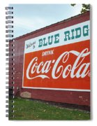 Blue Ridge Coke Spiral Notebook