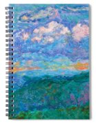 Blue Ridge Magic From Sharp Top Stage One Spiral Notebook