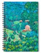 Blue Ridge Magic Spiral Notebook