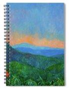 Blue Ridge Morning Spiral Notebook
