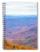 Blue Ridge Mountains 3 Spiral Notebook