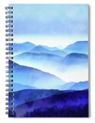 Blue Ridge Mountains Spiral Notebook