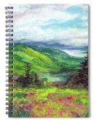 Blue Ridge Mountains Near Asheville Spiral Notebook