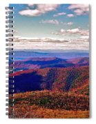 Blue Ridge Of Virginia Spiral Notebook