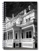 Blue Ridge Parkway Flat Top Manor Bw Spiral Notebook