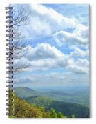 Blue Ridge Parkway Views - Rock Castle Gorge Spiral Notebook