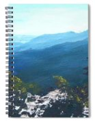 Blue Ridge Spiral Notebook