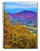 Blue Ridges Spiral Notebook