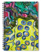 Blue Ringed Octopus Spiral Notebook