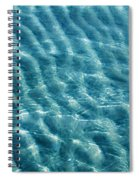 Blue Ripples Spiral Notebook