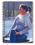 Blue River Spiral Notebook