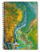 Blue River Thru Spiral Notebook