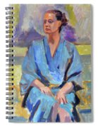 Blue Robe Spiral Notebook