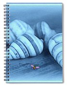 Blue Seashells Spiral Notebook