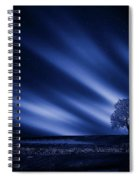 Blue Serenity Spiral Notebook