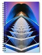 Blue Shift Spiral Notebook