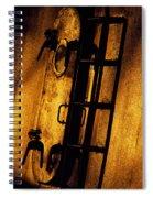 Blue Ship Hatchway At Sunrise Spiral Notebook