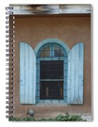 Blue Shutters Spiral Notebook