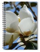 Blue Skies Magnolia Spiral Notebook