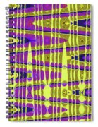 Blue Sky And Color Squares Abstract,#4 Spiral Notebook