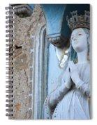 Blue Sky, Blue Heart Spiral Notebook