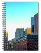Blue Sky Boston Spiral Notebook