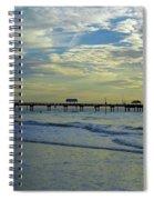 Blue Sky Clearwater Pier 60 Spiral Notebook